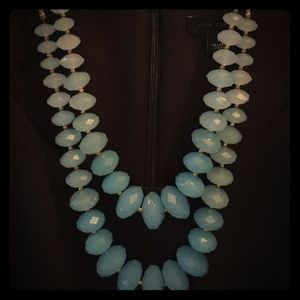 Charming Charlie plastic bead necklace like new
